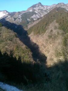 おいしい天然水を創る山