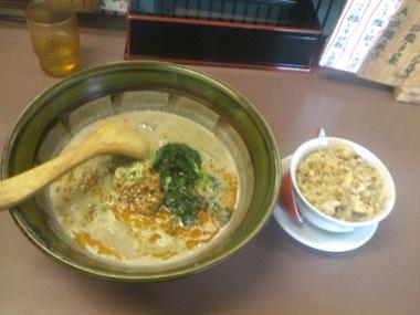 熊谷の坦々麺