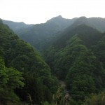 天然水を創る山々
