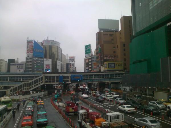渋谷の大都会