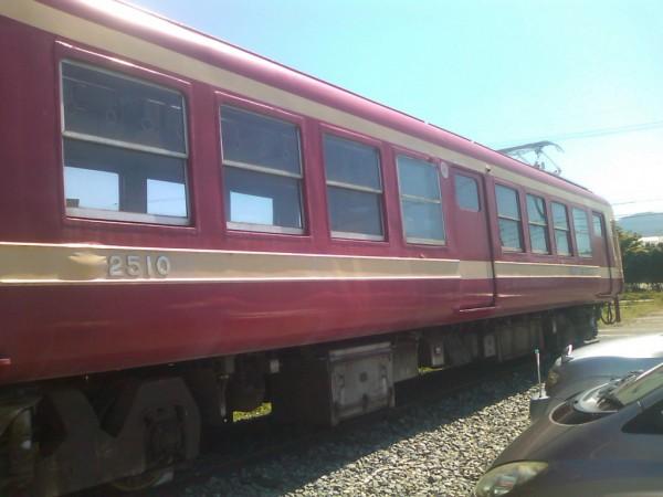 信州そばの電車