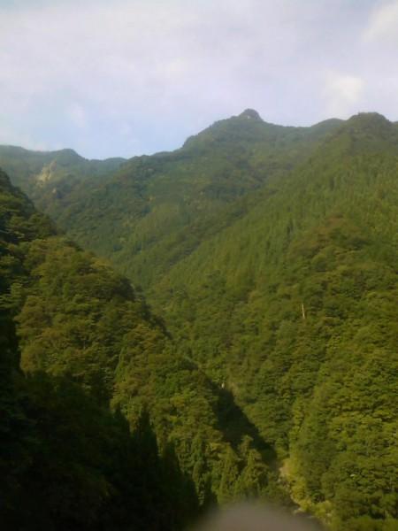 秩父の天然水が創られる山々
