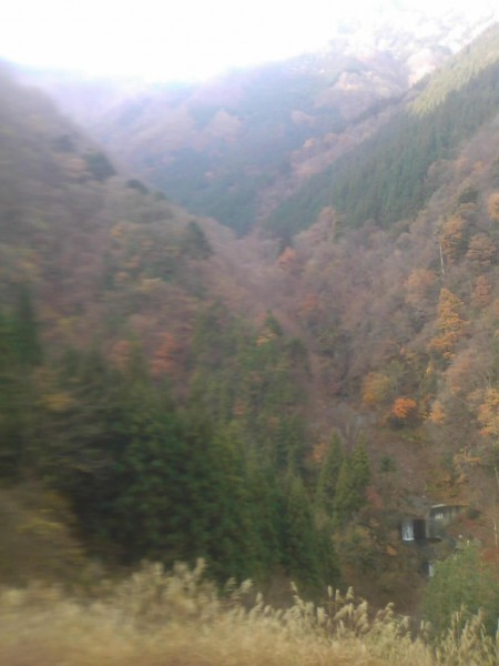 天然水が創られる山々